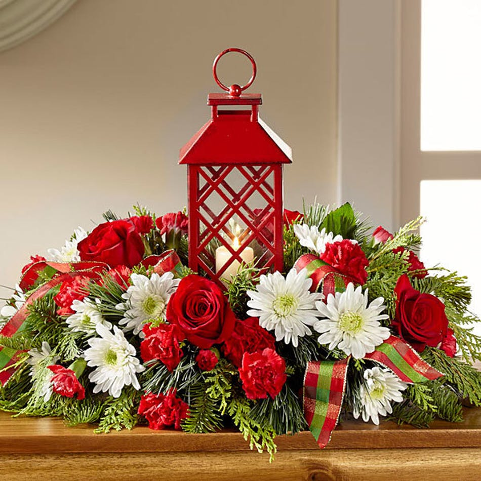 Celebrate the season holiday centerpiece ft worth delivery