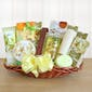 Elegant Orchid Spa Basket