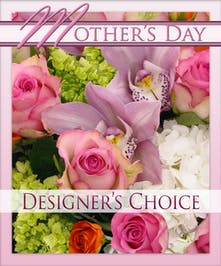 Mother's Day Designer's Choice Bouquet - Gordon Boswell Flowers