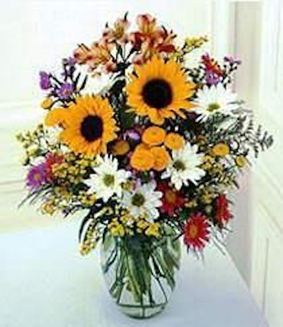 Sunflower Surprise Flowers Fort Worth Same Day Delivery