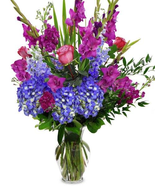 Blue Rhapsody Bouquet