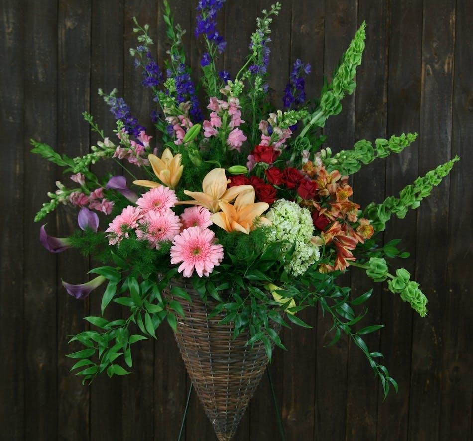 Bountiful Garden Flower Delivery In Fort Worth Florist