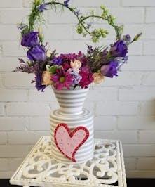 Coton Colors Valentine's Vase