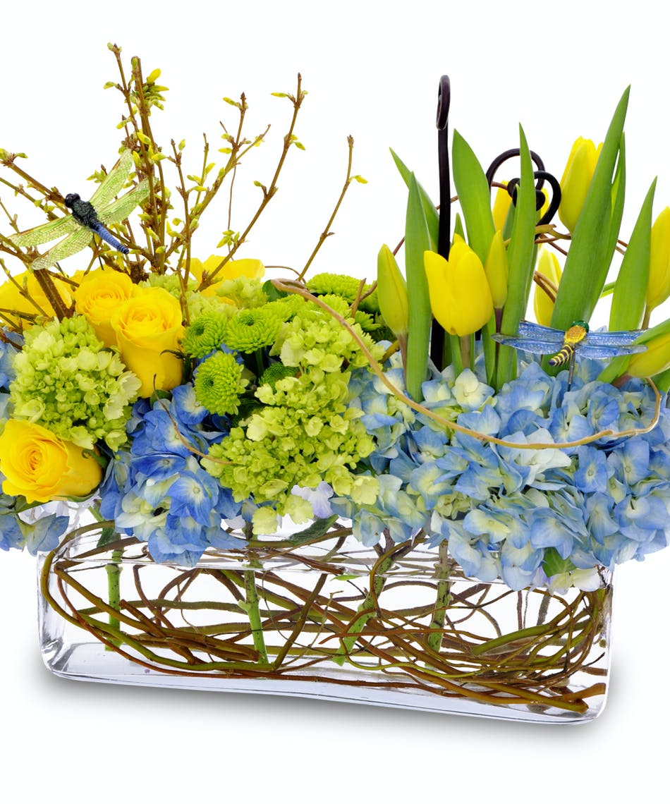 Springtime Song Spring Flowers By Gordon Boswell Florist