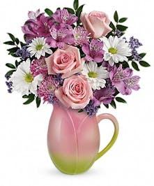 Spring & Easter Flower Arrangement - Fort Worth Florist - Flower Delivery