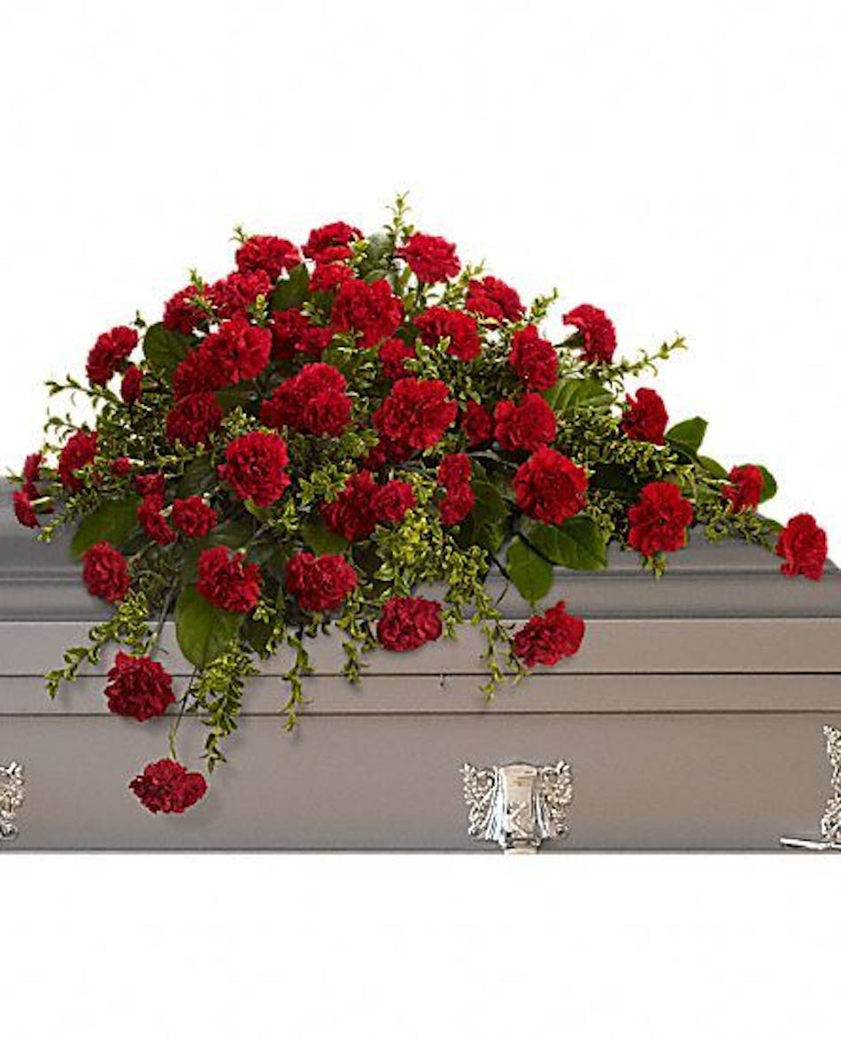 Adoration casket cover fort worth tx funeral flower delivery izmirmasajfo