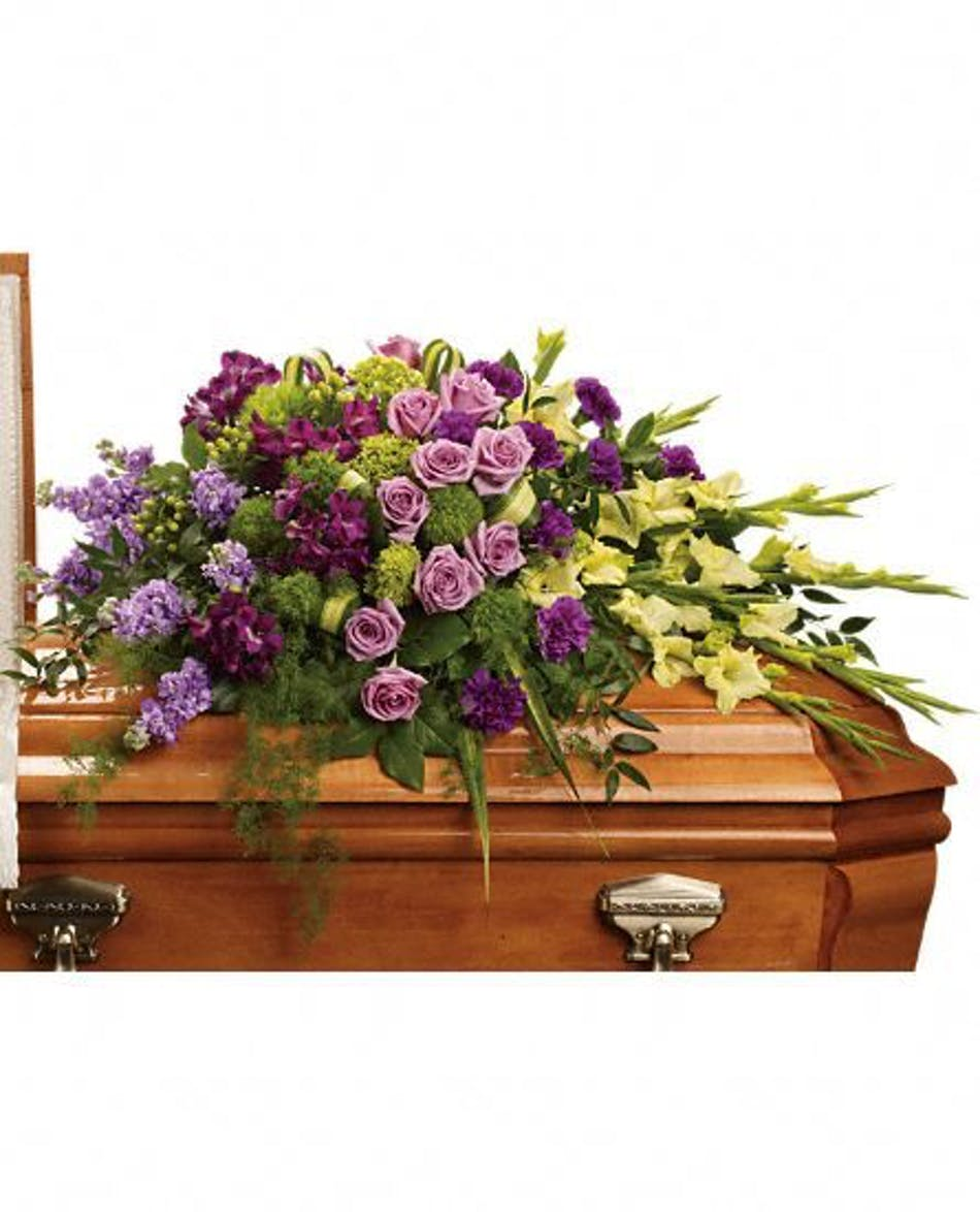 Reflections floral casket cover fort worth funeral flowers izmirmasajfo