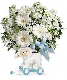 Sweet Little Lamb Blue