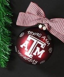 Texas A & M Ornament