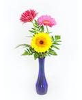 Bright Blooms Bud Vase