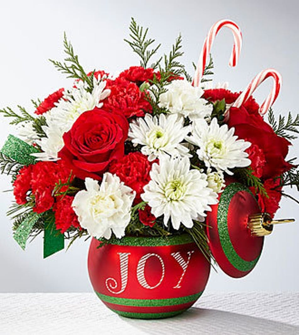 Seasons Greeting Holiday Flowers Ft Worth Same Day Delivery