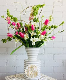 Coton Colors Stone Stripe Vase