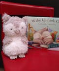 Jelly Cat Little Owl and Book