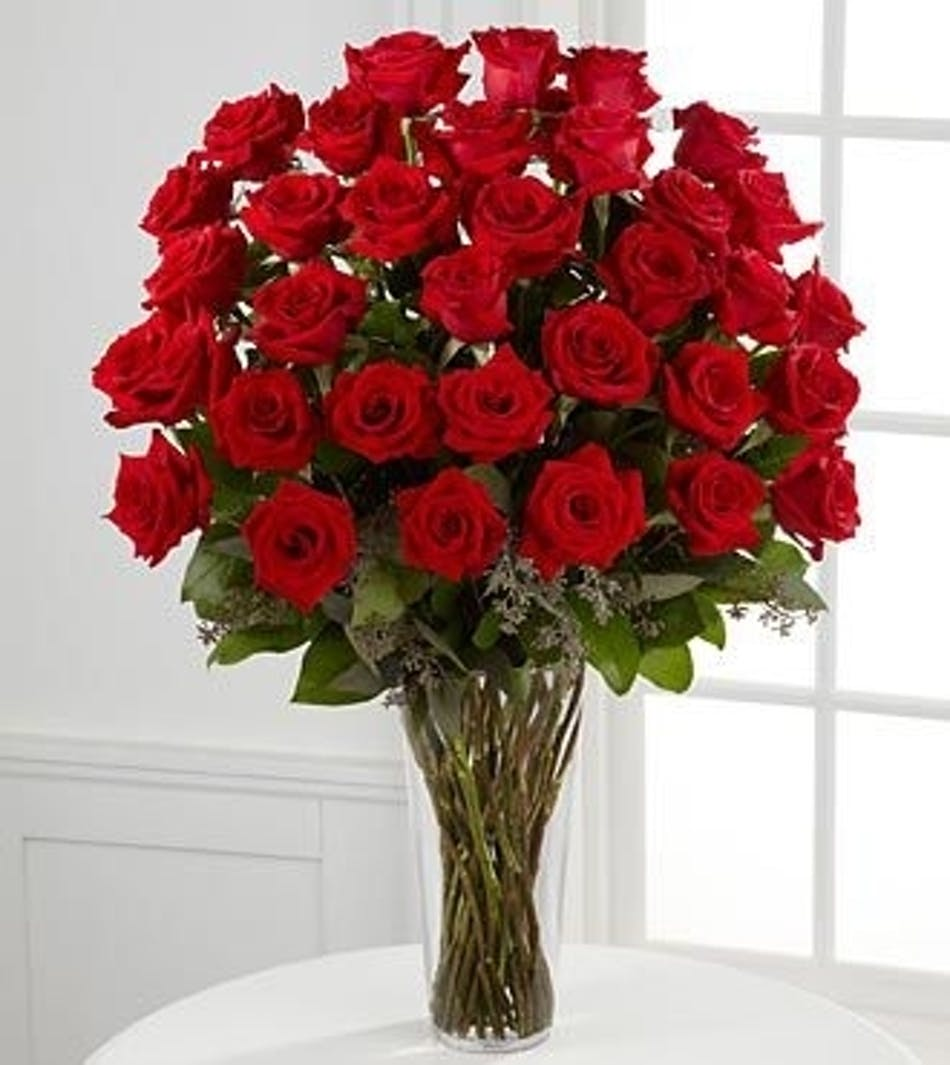 3 Dozen Valentines Day Roses Same Day Delivery Fort Worth Tx