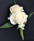 Sweetheart Spray White Roses