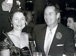Felix and wife at a dinner event in the 1960s